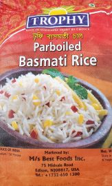 Parboiled Basmati Rice (Trophy) 10lb