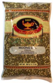 Moong Dal (Green Split - Chilka)  (Deep) - 2 LB
