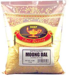 Moong Dal (Yellow) (Deep) - 4 LB