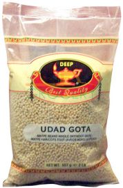 Urad Dal Gota White (Whole-Skinless) (Deep) - 2 LB