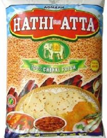 Whole Wheat Atta (Hathi Brand)  - 20 LB