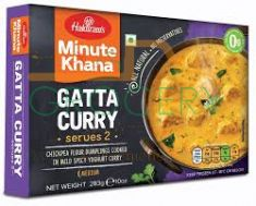 Frozen Gatta Curry (Haldiram) - 283 GM
