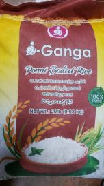 Ponni Boiled Rice (iGanga) - 20 LB