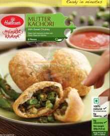 Haldirams Mutter Kachori  8 Pieces - 420 GM