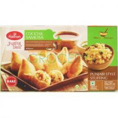 Cocktail Samosa 28 Pieces (Haldiram) - 650 GM