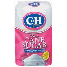 C&H Pure Cane Sugar Granulated White - 10 LB