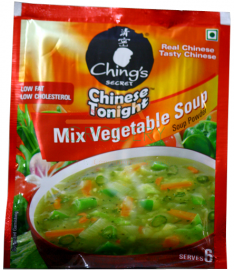 Chings Mixed Vegetable Soup - 60 GM (2.1 oz)