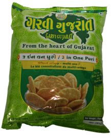 Garvi Gujarat 3 IN 1 Puri For Bhel - 10 oz