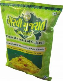 Garvi Gujarat Roasted Poha Chiwda - 10 oz