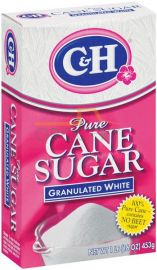 C&H Pure Cane Sugar Granulated White - 1 LB