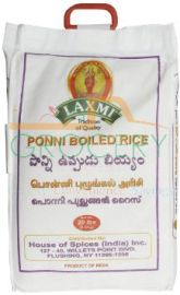 Ponni Boiled Rice (Laxmi) - 20 LB