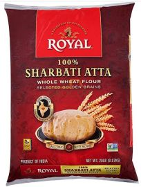Sharbati Whole Wheat Atta Flour (Royal)  - 20 LB