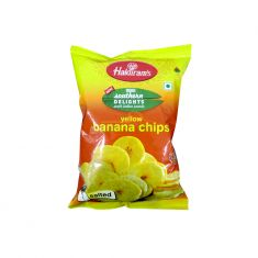 Banana Chips Yellow (Haldiram) - 180 GM
