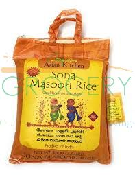 Sona Masoori Rice (Asian Kitchen) - 20 LB