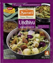 Frozen Meal Kit- Undhiyu (Surati) - 568 GM