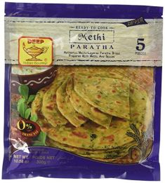 Methi-Paratha (Deep) - 5 pc