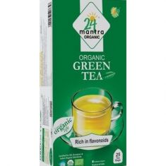 Green Tea  Bags Organic (24Mantra) - 1.32 OZ