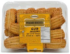 Gur Punjabi Buiscuits(Golden)-680 GM