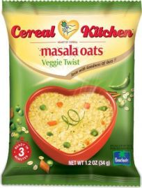 Veggie Twist Masala Oats (Cereal Kitchen) - 34 GM
