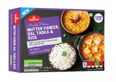 Meal Combo - Mutter Paneer, Dal Tadka and Rice (Haldiram) - 340 GM
