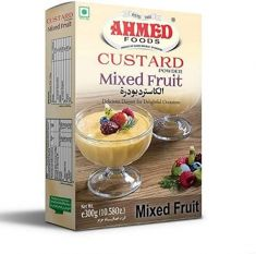 Mixed Fruit Custard (Ahmed) -  300  GM