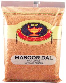 Masoor Dal Split (Red) (Deep) - 2 LB