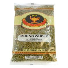 Moong Dal (Green whole) (Deep) - 2 LB