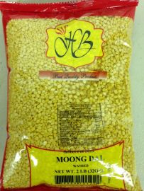 Moong Dal Washed (Yellow)  (Hathi Brand) - 2 LB