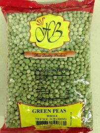 Green Peas Whole (Hathi) - 2 LB