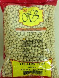 Yellow Peas Whole (Hathi) - 2 LB