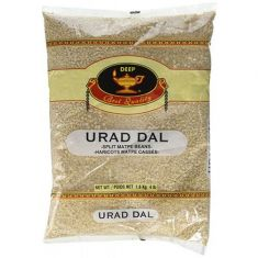 Urad Dal - Split White (Deep) - 4 LB
