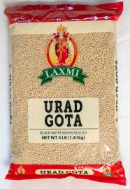 Urad Dal Gota White (Whole-Skinless) (Laxmi) - 4 LB
