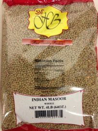 Indian Masoor Whole (Hathi) -4 LB