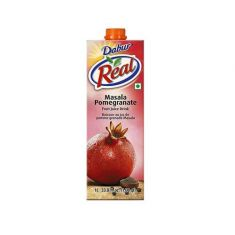 Real Masala Pomegranate Fruit Nectar Juice (Dabur) - 1 LTR