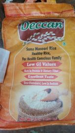 Lower GI (Diabetic) Sona Masoori Rice (Deccan) - 10 LB