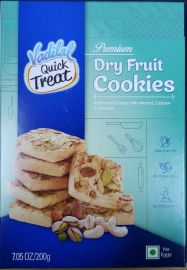 Dry Fruit Cookies (Vadilal) 200 GM