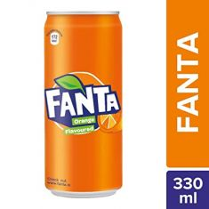 Fanta Indian Soda Can - 300 ML
