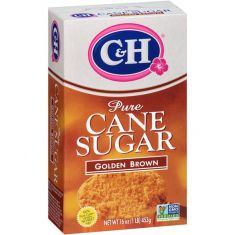 C&H Pure Cane Sugar Golden Brown - 1 LB