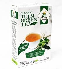 Tulsi Green Tea Organic (24Mantra) - 1.75 OZ