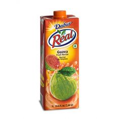 Real Guava Fruit Nectar Juice (Dabur) - 1 LTR