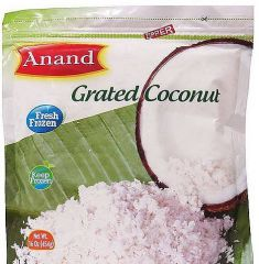 Frozen Grated Coconut (Anand) - 1 LB