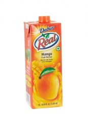 Real Mango Fruit Nectar Juice (Dabur) - 1 LTR