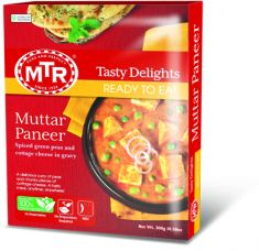 Muttar Paneer (MTR) - 300 GM