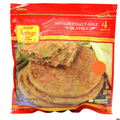 Mix Veg Paratha (Deep) -  4 pc