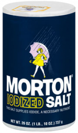 Morton Iodized Salt - 1 LB