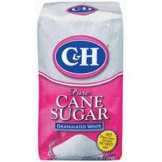 C&H Pure Cane Sugar Granulated White - 4 LB