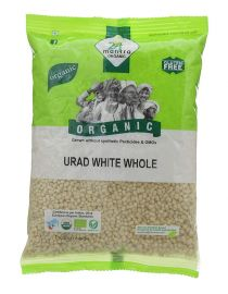 Urad White Whole Organic (24 Mantra) - 4 LB