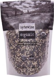 Organic Black Urad Split with Skin Dal (Bytewise) - 3.5 LB