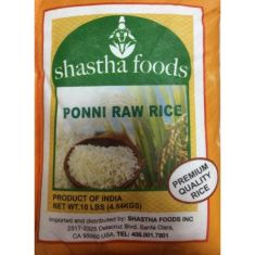 Ponni Raw Rice (Shastha) - 10 LB