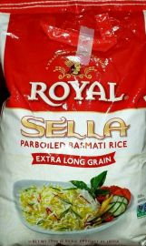 Chef's Secret SELLA (X-LONG Parbolied) Rice (Royal) - 20 LB